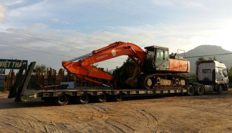 Vận chuyển xe đào Hitachi Zaxis 500 TPHCM – Hà Nội