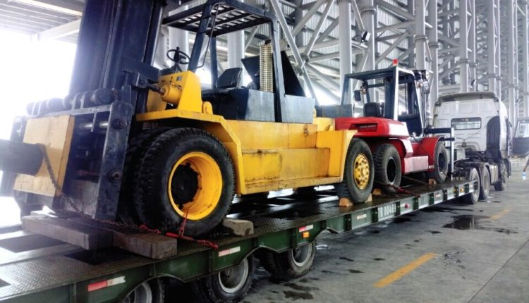 Vận chuyển xe nâng Hà Tĩnh – TPHCM
