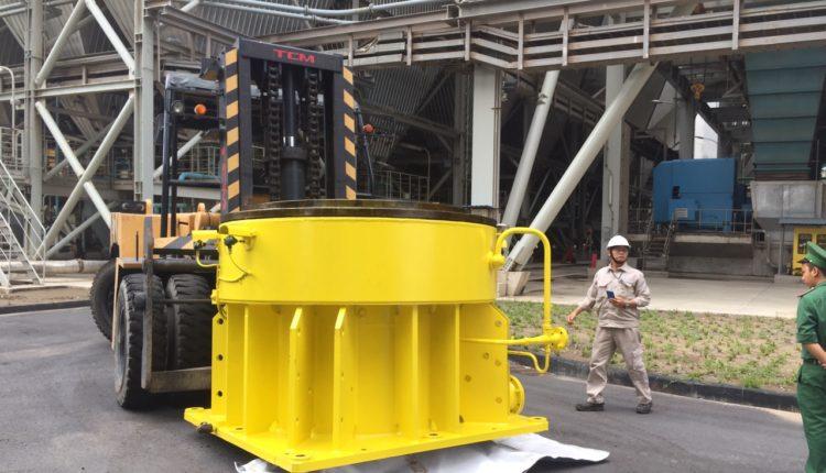 Vận chuyển xe nâng 25t TPHCM – Nhiệt điện Duyên Hải Trà Vinh