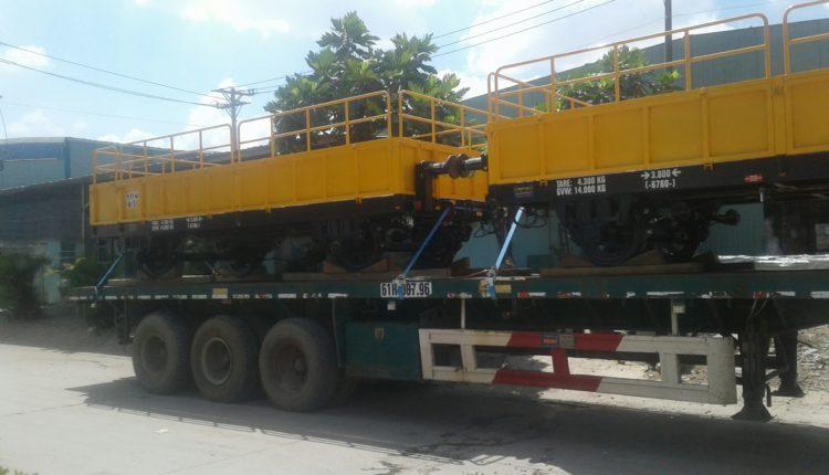 Vận chuyển toa tàu TPHCM – Hải Phòng